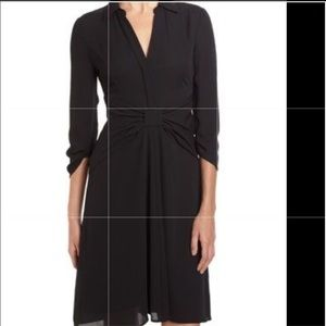 NWT BCBG Tazar bow waist women-shirt midi dress
